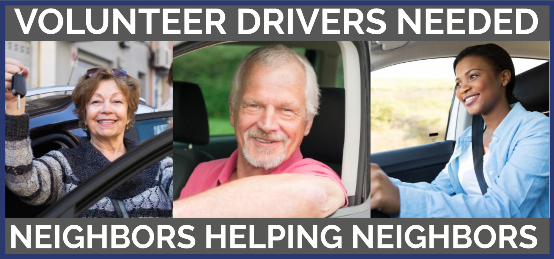 Volunteer Drivers Needed